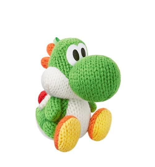 Yarn Yoshi Green, Yoshi Series, Nintendo amiibo, NVLCYAAA