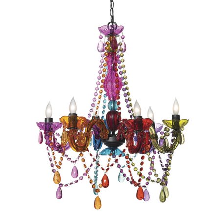 Three Cheers For Girls 6Light Crystal Chandelier Walmart – Girls Crystal Chandelier