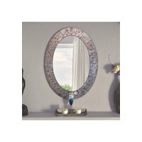 Bohemian Rhapsody Wall Mirror -Purple Rain - Glass Mosaic Decorative Wall Mirror