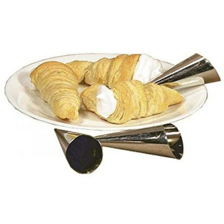 Cream Roll Horn Molds, Set of 6