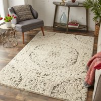 Deals on Mohawk Home Francesca Farmhouse Area Rug 5-ft x 8-ft