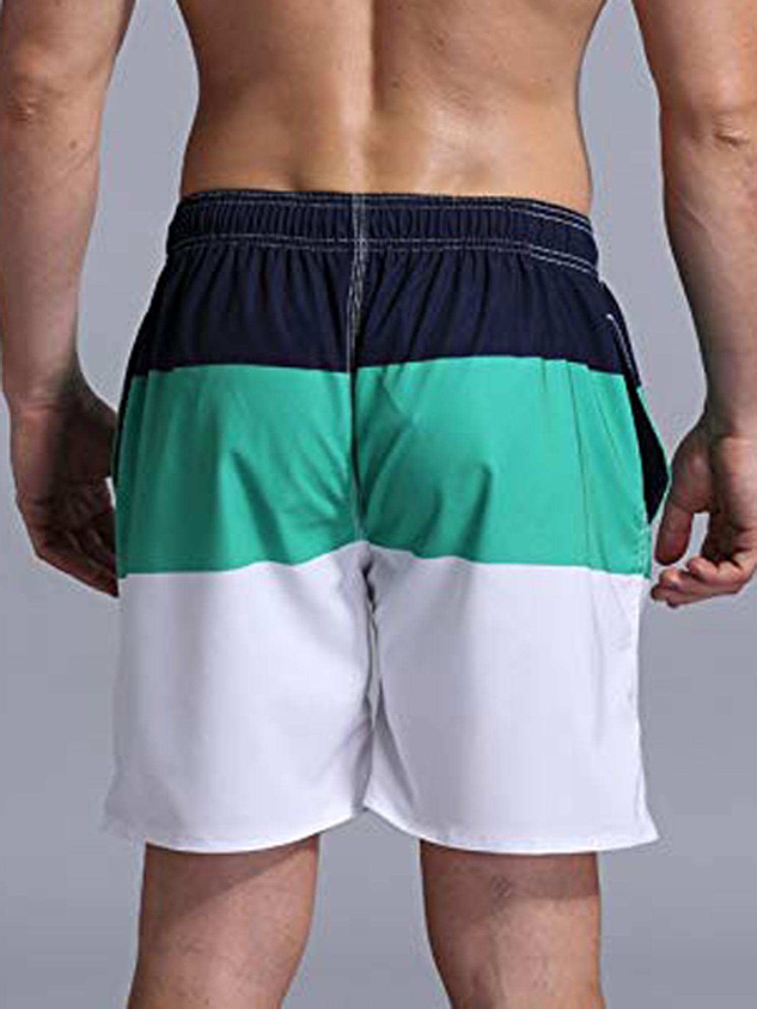 Men/'s Swim Trunks Beach Board Swimwear Shorts Patriotic Memorial Day Swimming Short Pants Quick Dry Water Shorts Mesh Lining