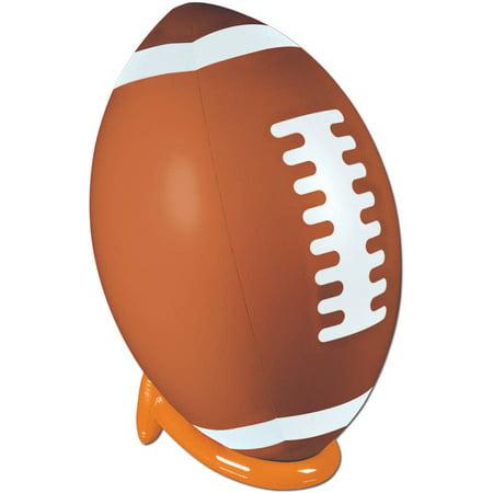 Inflatable Football and Tee Set - Plastic Football