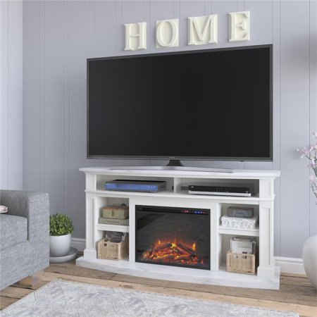 Ameriwood Home Stella Fireplace TV Stand for TVs up to 60
