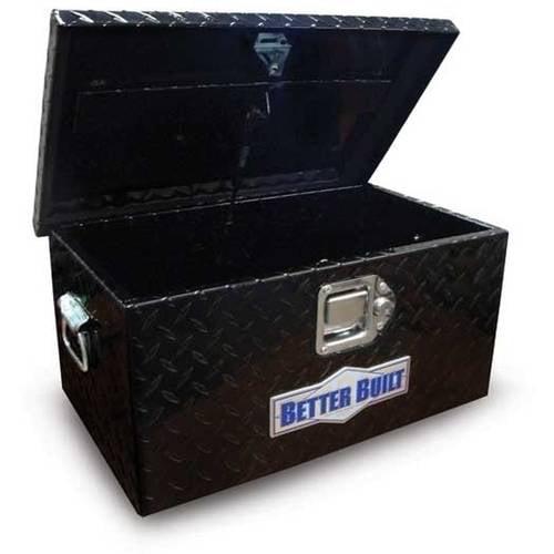 BETTER BUILT 67210276 ATV TOOL BOX BLACK 20INLX12INWX9.5INH