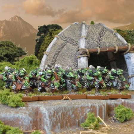 Goblin Spitters Regiment New
