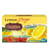 Celestial Seasonings Lemon Zinger Herbal Tea, 20 Count Box