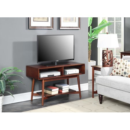 Convenience Concepts Savannah Mid Century TV Stand ()