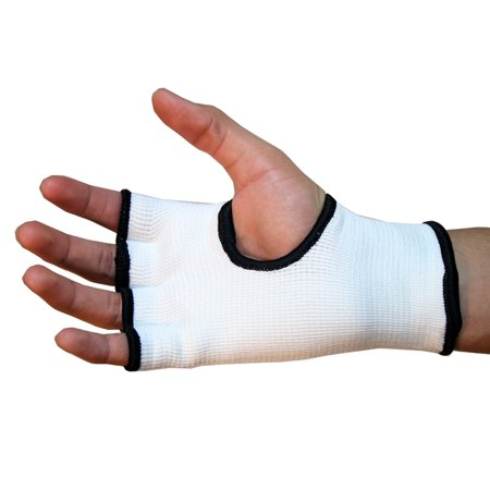 Wear Hand Wraps - Last Punch Hand Wrap Training Gloves MMA White Good QualityAll Sizes S to XL