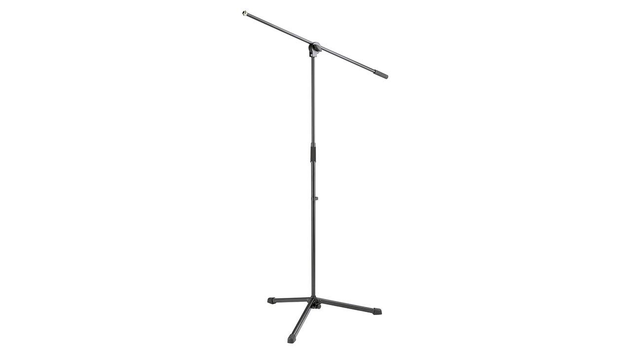 K&M 25400 Boom Microphone Stand Black 25400.500.55 Mic Konig & Meyer by