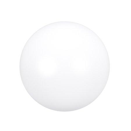 PTFE Ball, 18mm Diameter, Ground Finish, Diaphragm Pneumatic Pump, White