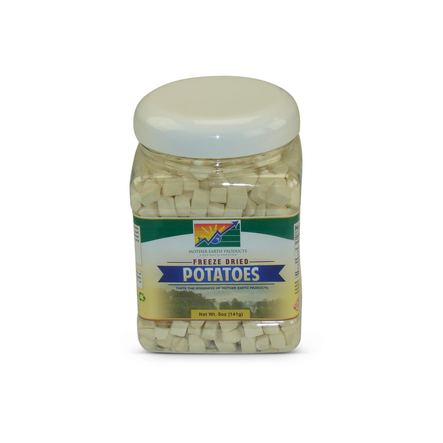 Mother Earth Products Freeze Dried Potato Dices, jar by Mother Earth Products