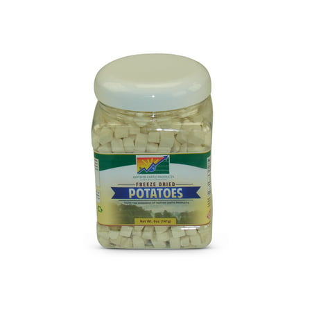 Freeze Dried Diced (Mother Earth Products Freeze Dried Potato Dices,)