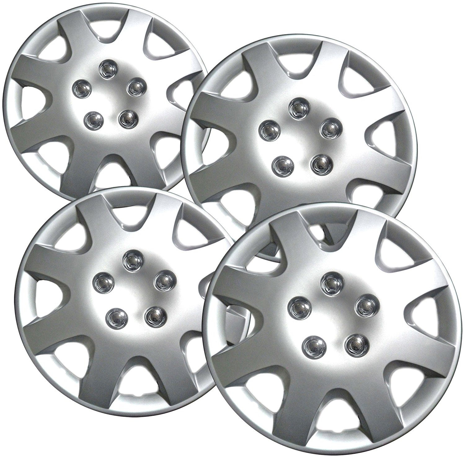 15 Inch Silver Wheel Covers For 2001 2002 Honda Civic