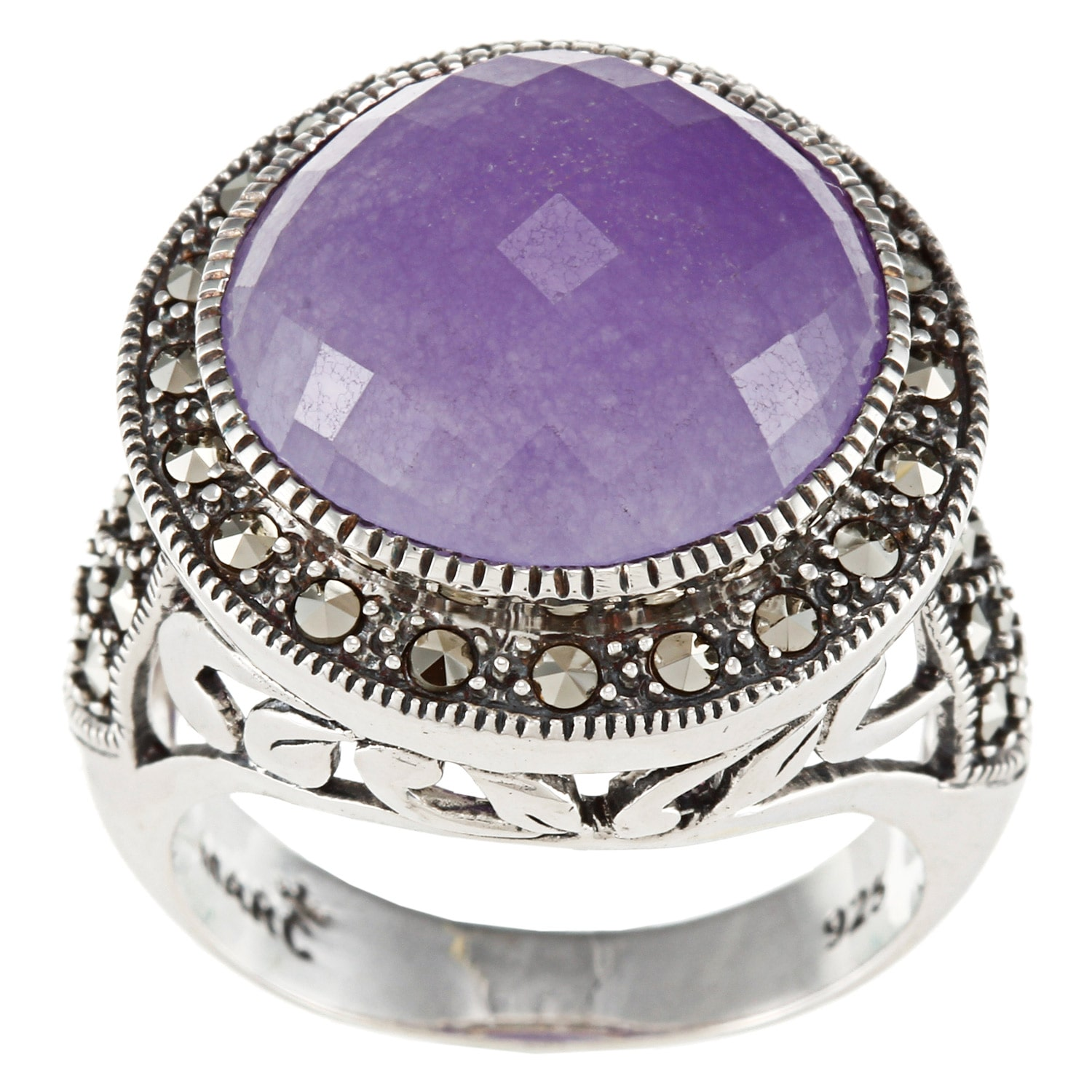 MARC  Sterling Silver asite and Gemstone Ring