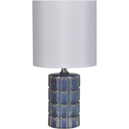 Better Homes & Gardens Blue Square Faceted Table Lamp Baron Square Table Lamp