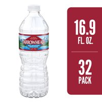 ARROWHEAD Brand 100% Mountain Spring Water, 16.9-ounce plastic bottles (Pack of 32)