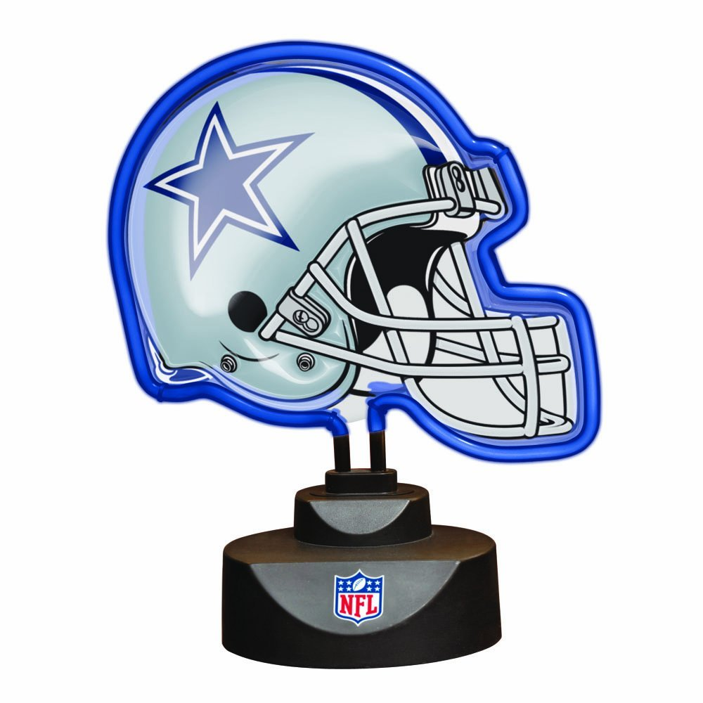 Memory Company Dallas Cowboys Neon Helmet Lamp