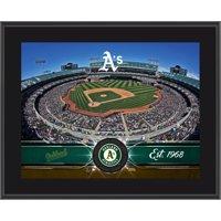 "Oakland Athletics Fanatics Authentic 10.5"" x 13"" Sublimated Team Plaque - No Size"