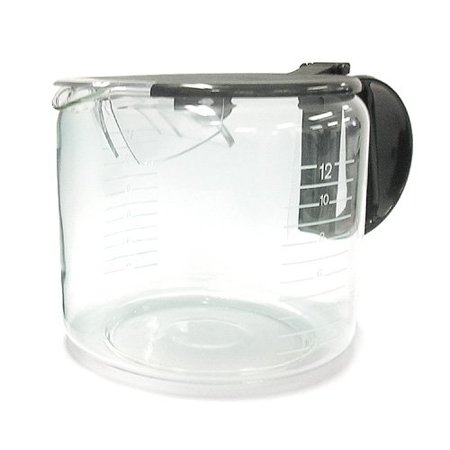 Braun Black 12 Cup Flavor Seal Carafe KFK12L (Braun 12 Cup Carafe)