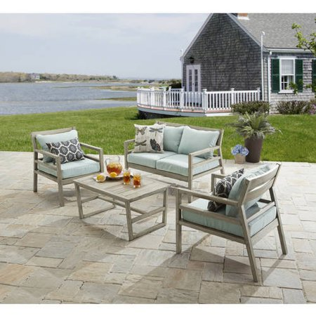 Better Homes and Gardens Cane Bay 4 Piece Conversation Set. Better Homes and Gardens Cane Bay 4 Piece Conversation Set