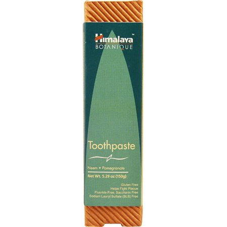 Himalaya Botanique Fluoride-Free Toothpaste, Neem And Pomegranate, 5.29