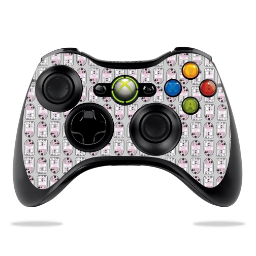 MightySkins Protective Vinyl Skin Decal for Microsoft Xbox 360 Controller Case wrap cover sticker skins