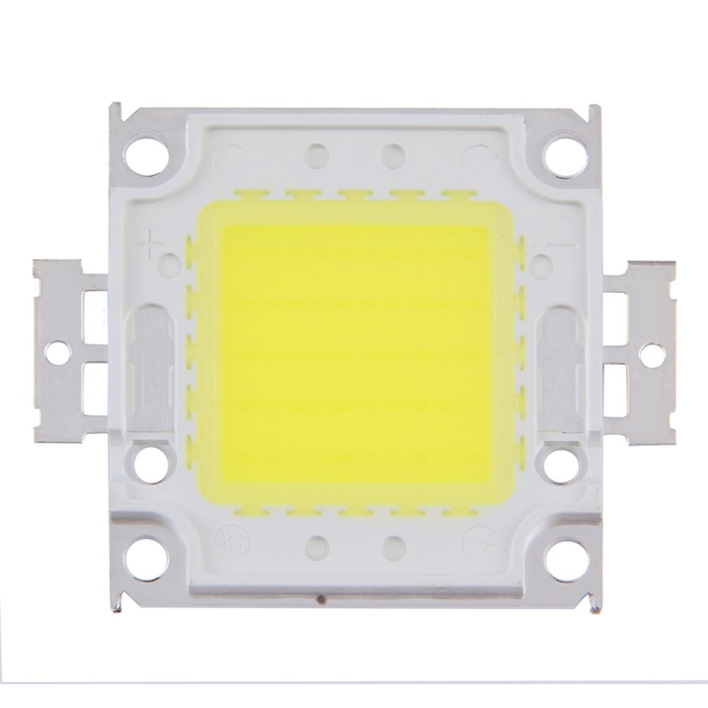 100W LED SMD Chip Bulbs High Power With Waterproof LED Driver Supply Warm  White Energy Saving Low Power Consumption