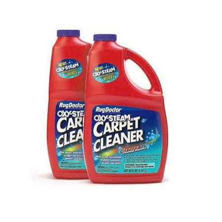 Oxy Steam 48 Oz Carpet Cleaner 2 Pk Walmart Com