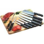 Home Basics 10-Piece Knife Set with Board