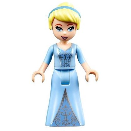 LEGO LEGO Disney Princess Cinderella Minifigure [Two-Colored Dress] [No Packaging]