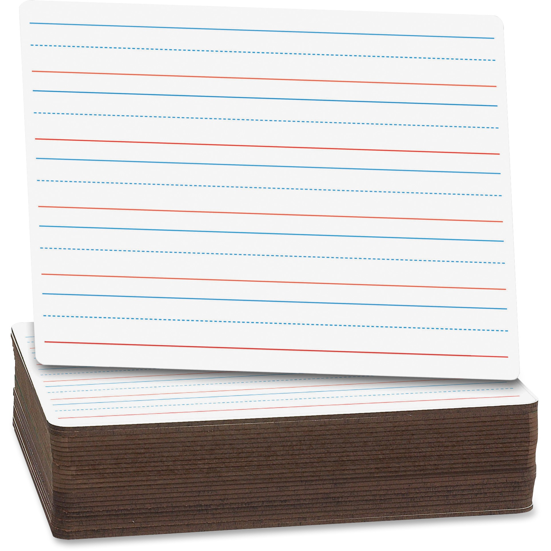 Flipside Ruled/Plain Dry Erase Board Pack