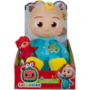Cocomelon Musical Bedtime JJ Doll, with a Soft, Plush Tummy and Roto Head Press Tummy and JJ Sings Yes, Yes, Bedtime Song, Includes 1 Small Pillow Plush Teddy Bear Bedtime Toys for Babies