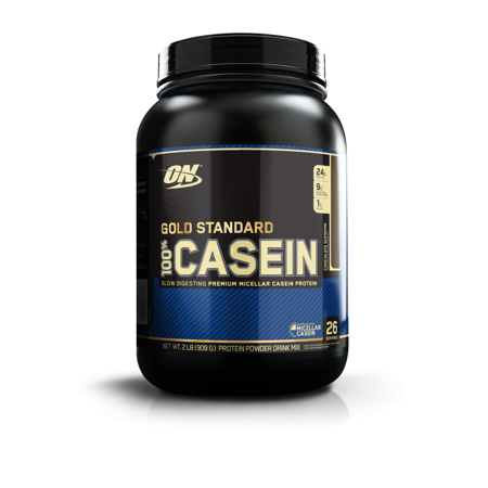 Optimum Nutrition Gold Standard 100% Casein Protein Powder, Chocolate, 24g Protein, 2lb, (Best Way To Drink Casein Protein)