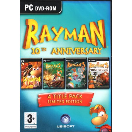 Rayman 10th Anniversary Limited Edition (PC Games) includes: M - Rayman 2 The Great Escape - Rayman 3 Hoodlum (Best Games For 2 Players Pc)