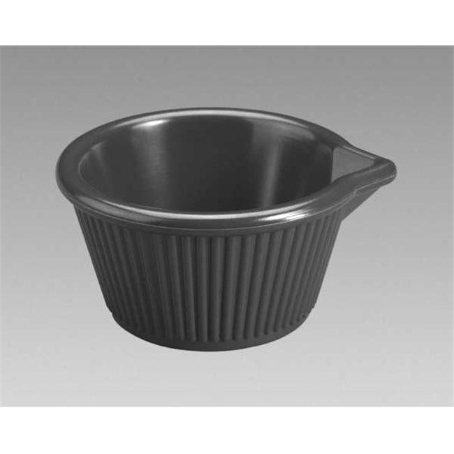 Gessner Products IW-0388A-BK 4 oz.  Spouted Ramekin- Case of 12