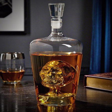 Shape Decanter (Phantom Skull Decanter for)