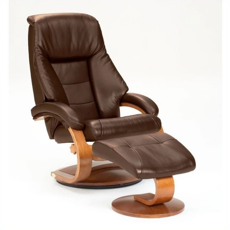 Mac Motion Oslo Leather Swivel Recliner in Espresso and Walnut  sc 1 st  Walmart & Mac Motion Oslo Leather Swivel Recliner in Espresso and Walnut ... islam-shia.org