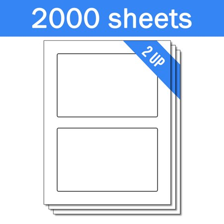 OfficeSmartLabels 4-1/4 x 6-3/4 inch STAMPS.com SDC1200 Compatible Labels ( 2 Labels Per Sheet, White, 2000 Sheets ) ()
