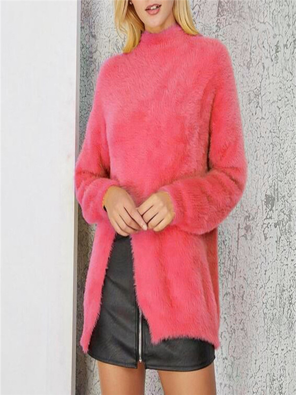 New Women Ladies Cowl Neck Top Plain Sleeveless Turtle Neck Vest Top Size 8-14UK