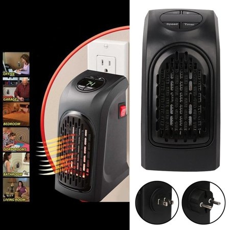 Protable Handy Space Heater Wall Outlet Electric Heaters For ...