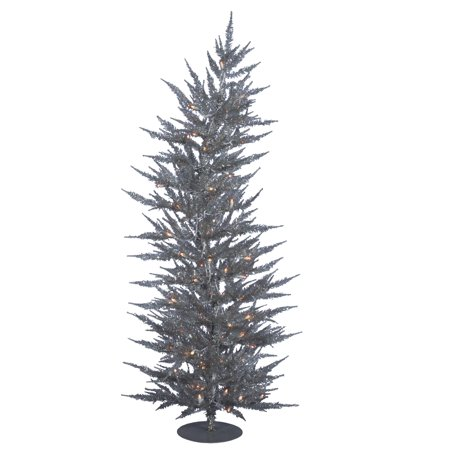 Silver Laser (Vickerman Artificial Christmas Tree 6' x 26