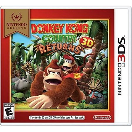 Nintendo Selects: Donkey Kong Country Returns 3D, Nintendo, Nintendo 3DS, 045496743802