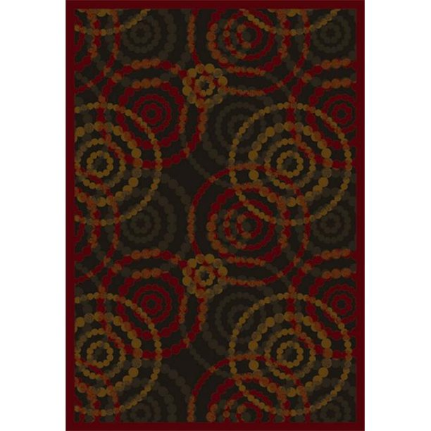 Joy Carpets 1517c 03 Dottie Warm Earth 5 Ft 4 In X 7 Ft 8 In 100 Pct Stainmaster Nylon Machine Tufted Cut Pile Whimsy Rug Walmart Com Walmart Com