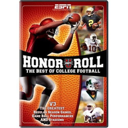 ESPN: ESPNU Honor Roll - The Best Of College Football, Vol. 3