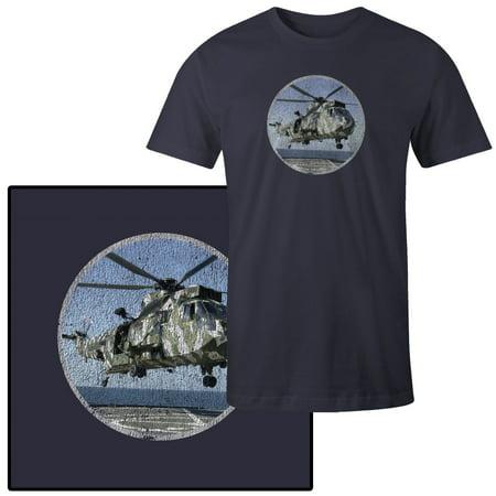 Royal Navy Sea King - Men's British Sea King HC-4 Royal Navy Helicopter War T-Shirt