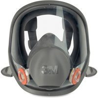 3M, MMM6900, 6900 Full Fpiece Reusable Respirator, 1 Each, Black,Gray
