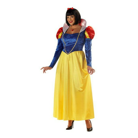Woman's Snow White Plus Costume - Snow White Customes