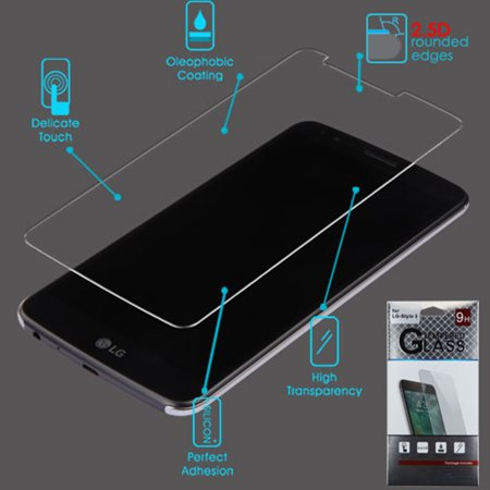 LG Stylo 3 Screen Protector, by Insten 2.5D Clear Tempered Glass Screen Protector LCD Film Guard for LG Stylo 3 - image 4 of 5