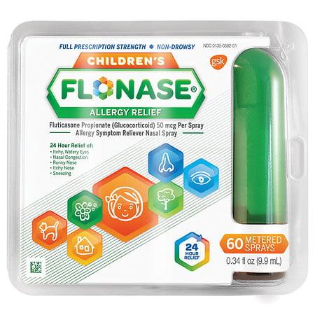 Children's Flonase Allergy Relief Spray 60 metered sprays 0.33 oz.(pack of 1)